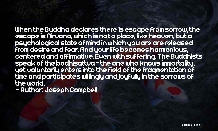 Your State Of Mind Quotes By Joseph Campbell