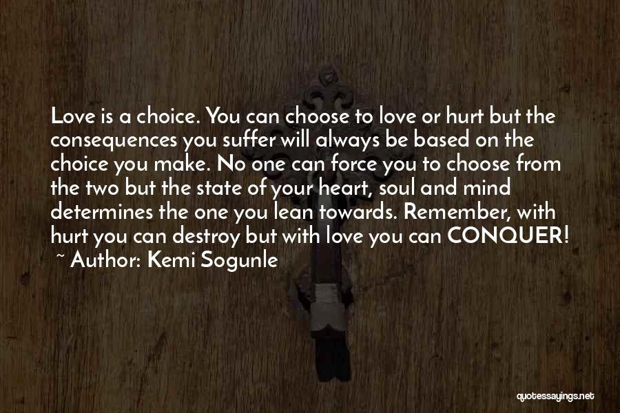 Your State Of Mind Quotes By Kemi Sogunle