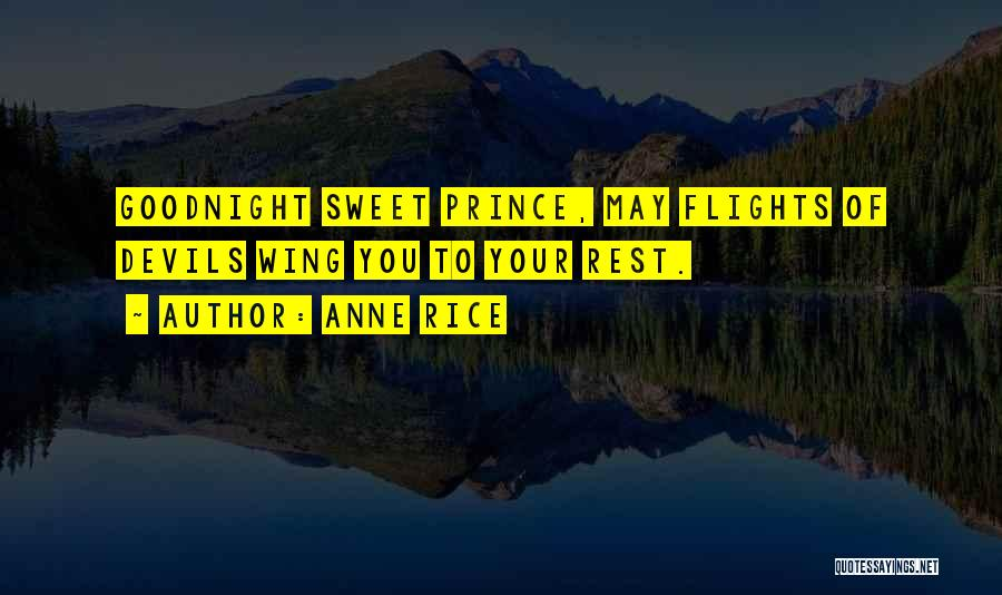 Your Sweet Quotes By Anne Rice