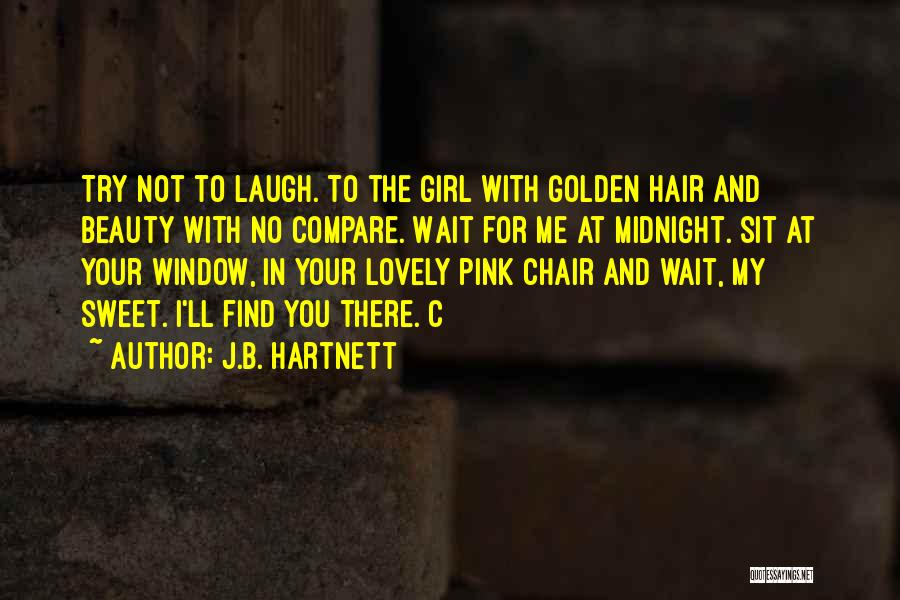 Your Sweet Quotes By J.B. Hartnett