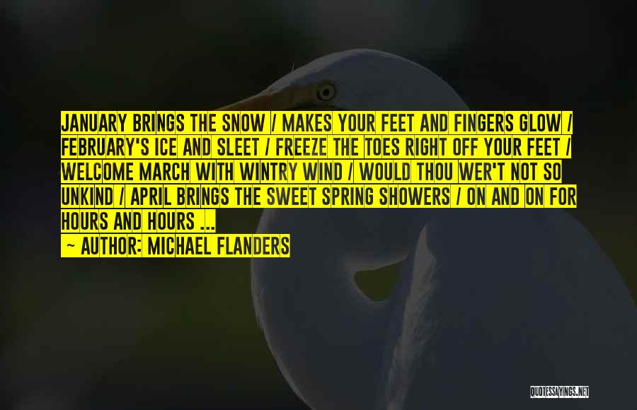 Your Sweet Quotes By Michael Flanders