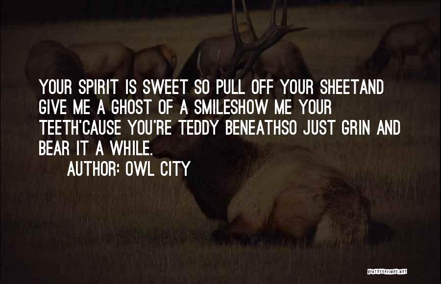 Your Sweet Quotes By Owl City