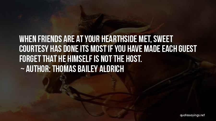 Your Sweet Quotes By Thomas Bailey Aldrich