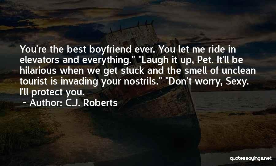 Your The Best Boyfriend Quotes By C.J. Roberts