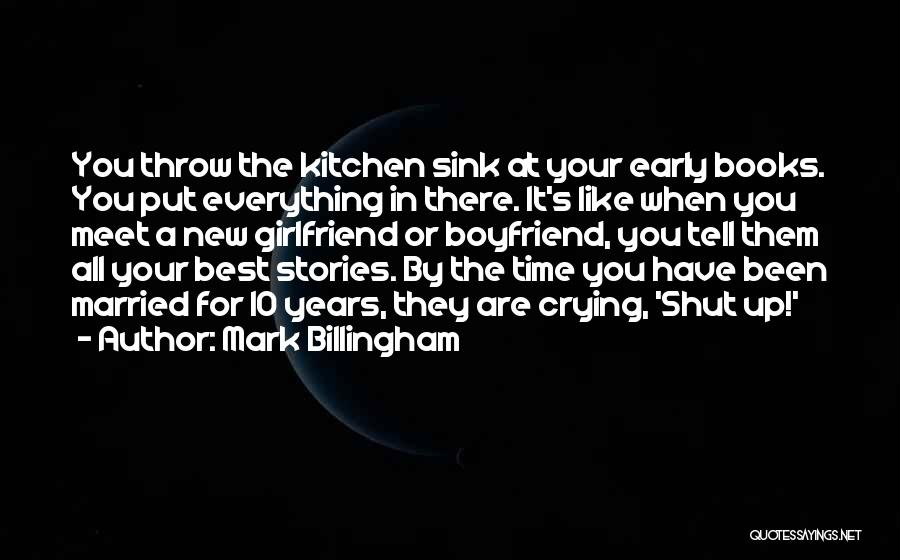 Your The Best Boyfriend Quotes By Mark Billingham