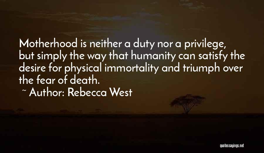 Your The Best Mom Quotes By Rebecca West