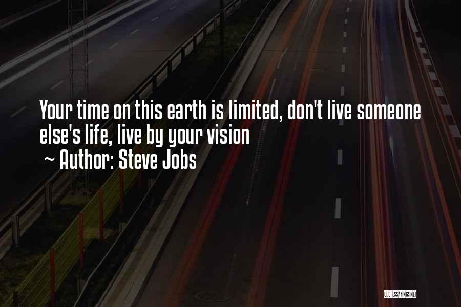 Your Time On Earth Is Limited Quotes By Steve Jobs