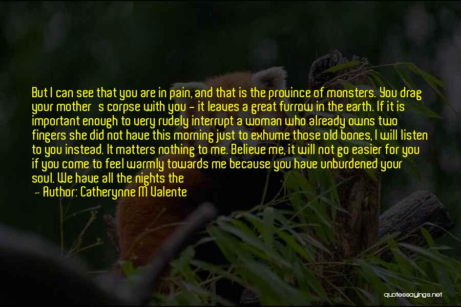 Your Very Important To Me Quotes By Catherynne M Valente