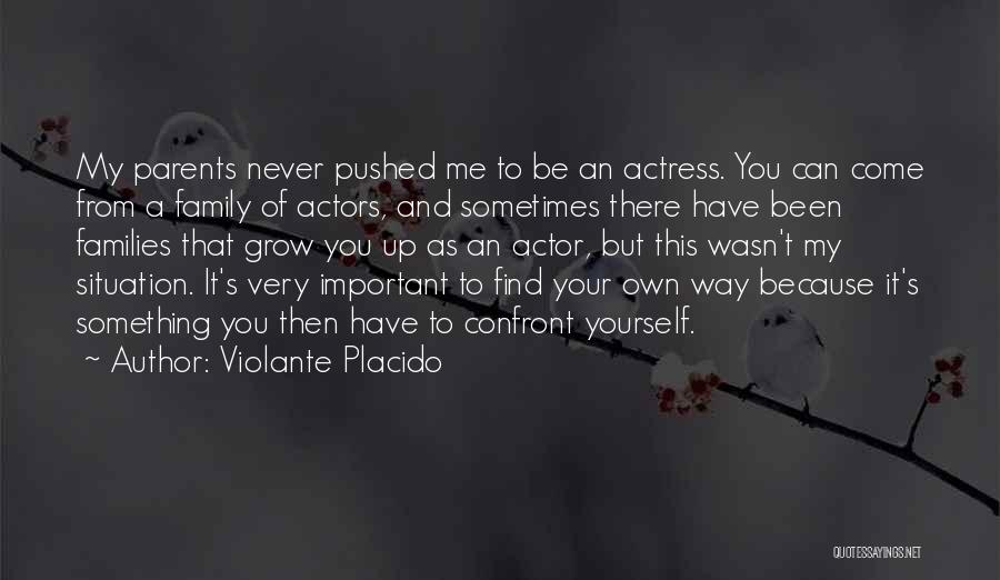 Your Very Important To Me Quotes By Violante Placido