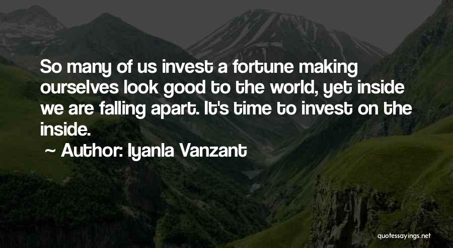 Your World Falling Apart Quotes By Iyanla Vanzant