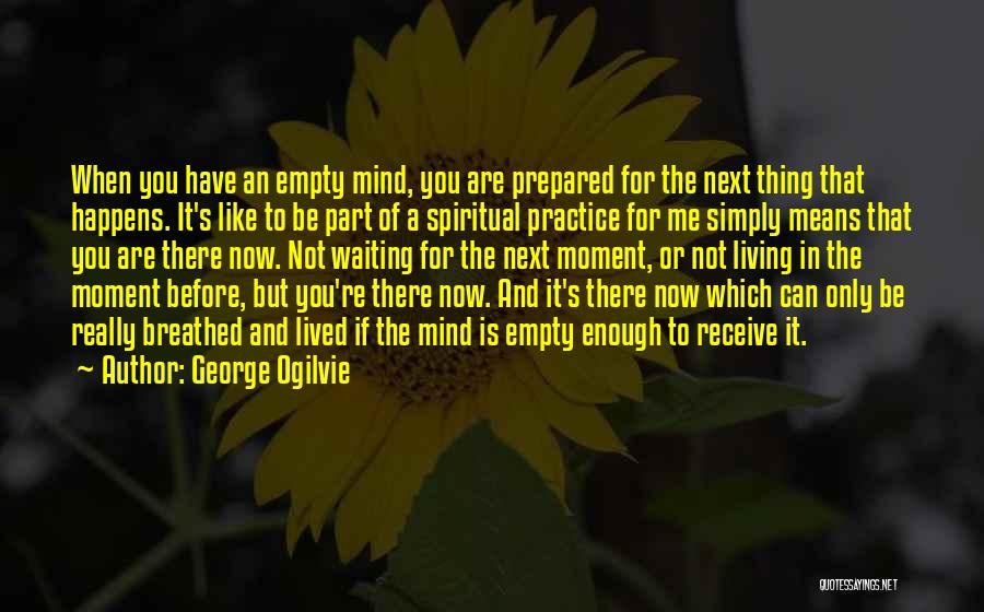 You're A Part Of Me Quotes By George Ogilvie