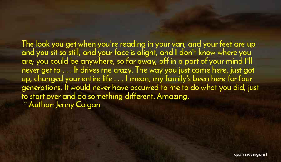 You're A Part Of Me Quotes By Jenny Colgan