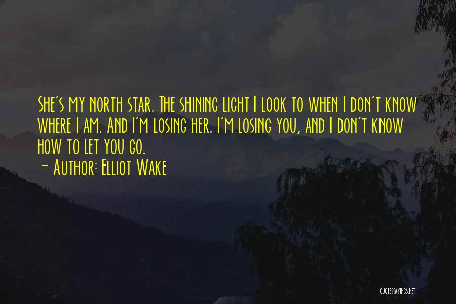 You're A Shining Star Quotes By Elliot Wake