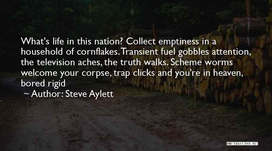 You're In Heaven Quotes By Steve Aylett