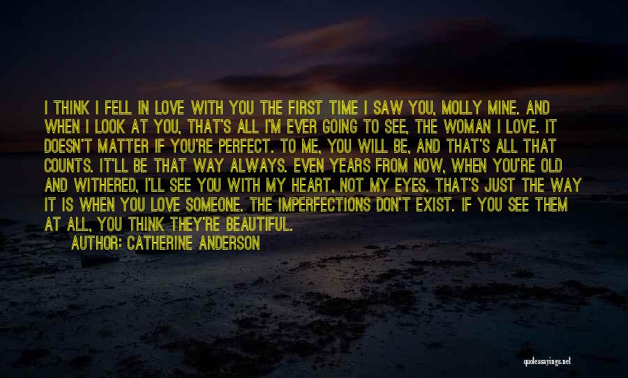 You're Mine Love Quotes By Catherine Anderson