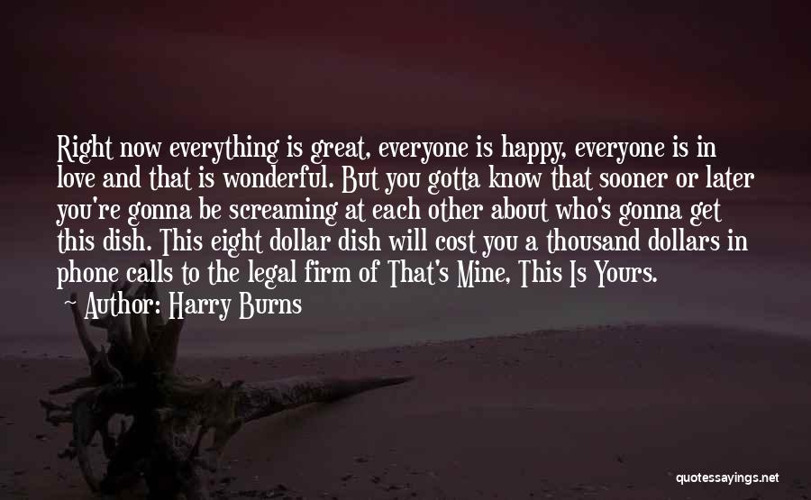 You're Mine Love Quotes By Harry Burns