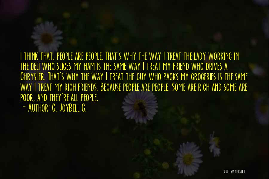You're My Best Guy Friend Quotes By C. JoyBell C.