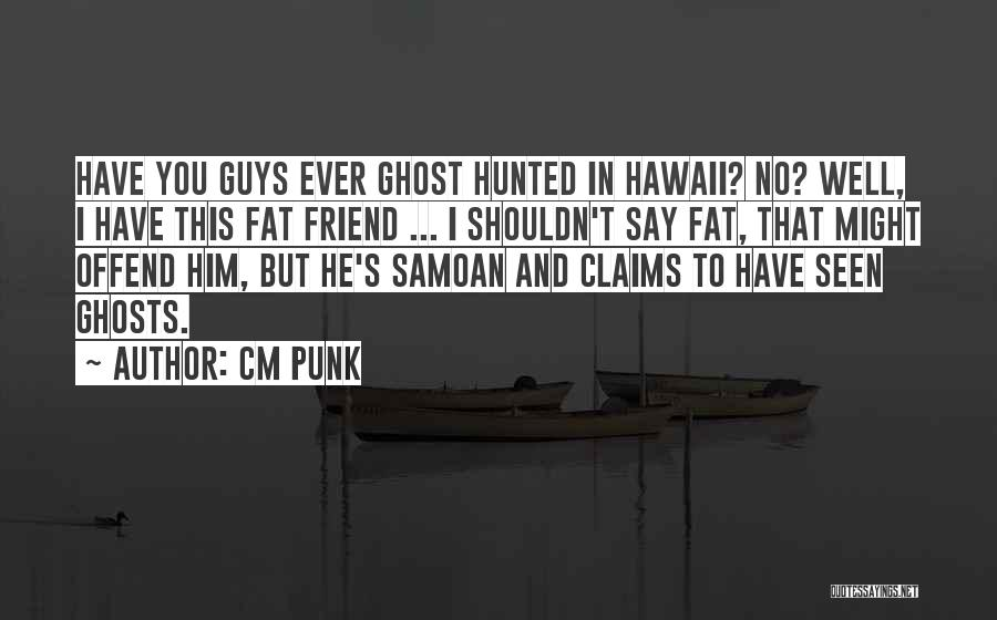 You're My Best Guy Friend Quotes By CM Punk