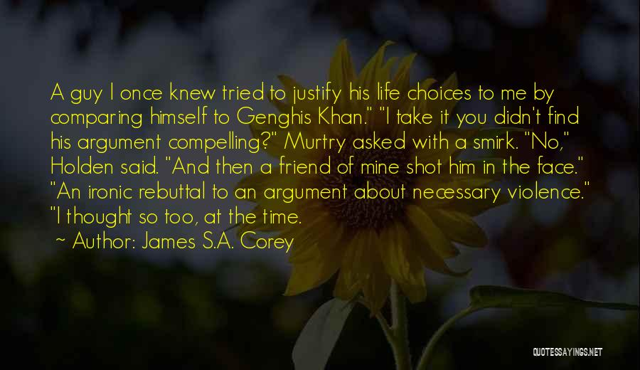 You're My Best Guy Friend Quotes By James S.A. Corey