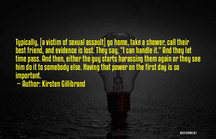 You're My Best Guy Friend Quotes By Kirsten Gillibrand