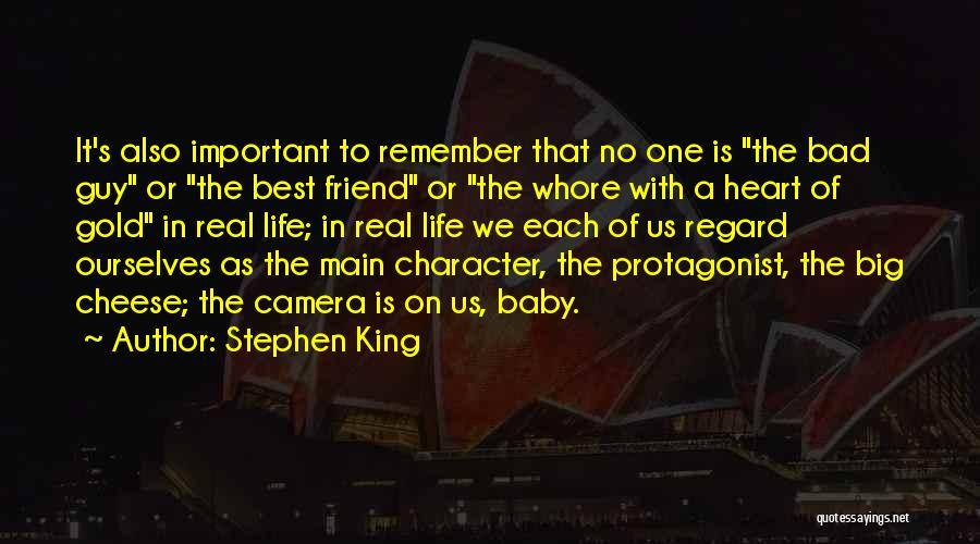You're My Best Guy Friend Quotes By Stephen King