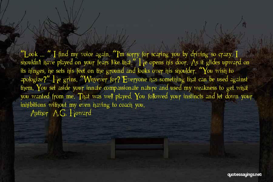 You're My Weakness Quotes By A.G. Howard