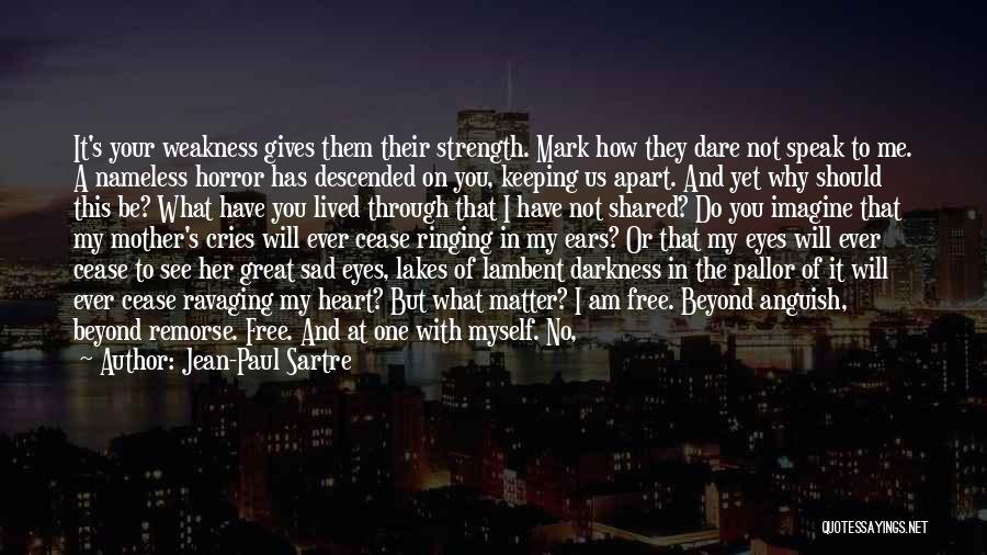 You're My Weakness Quotes By Jean-Paul Sartre