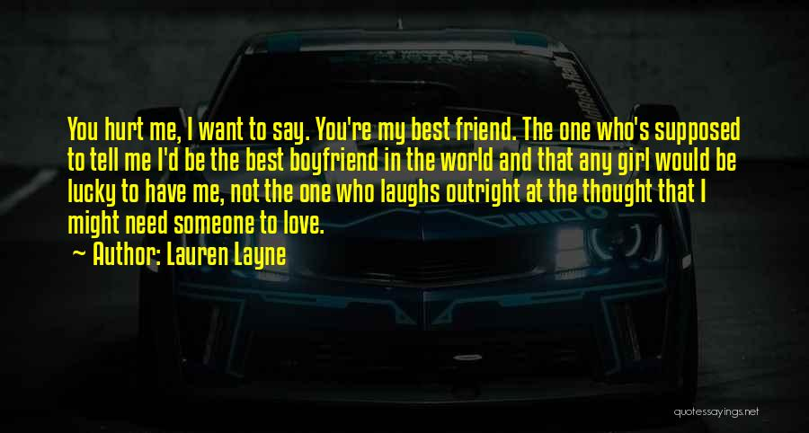 You're Not In Love Quotes By Lauren Layne
