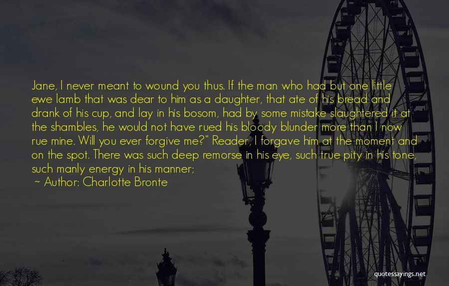 You're Not Mine Yet Quotes By Charlotte Bronte