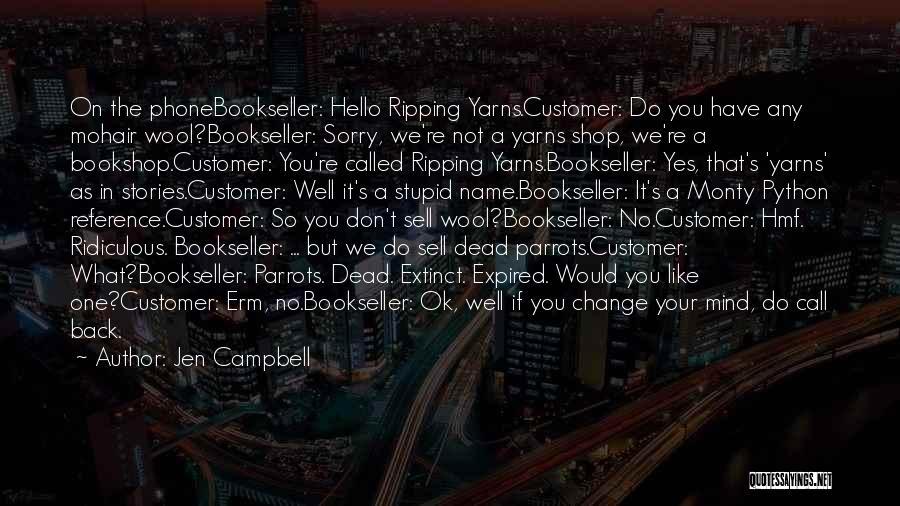 You're Not Ok Quotes By Jen Campbell