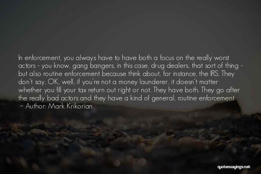 You're Not Ok Quotes By Mark Krikorian