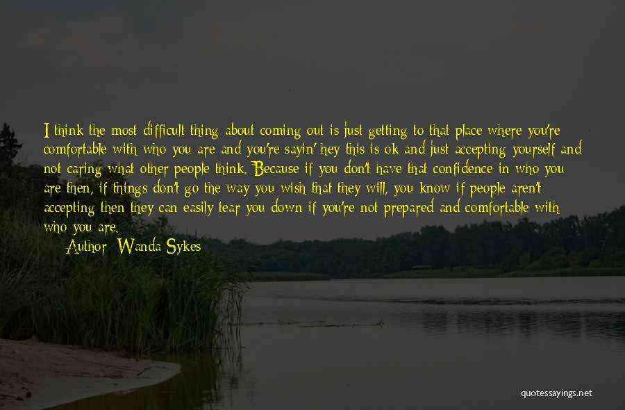 You're Not Ok Quotes By Wanda Sykes