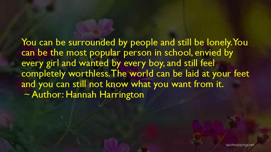 You're Not Worthless Quotes By Hannah Harrington