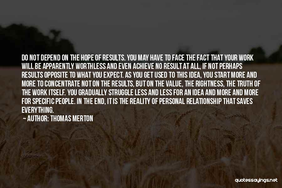 You're Not Worthless Quotes By Thomas Merton