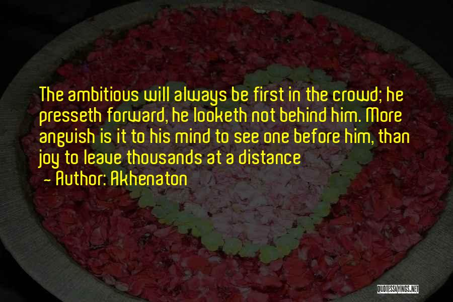 You're The First Thing On My Mind Quotes By Akhenaton