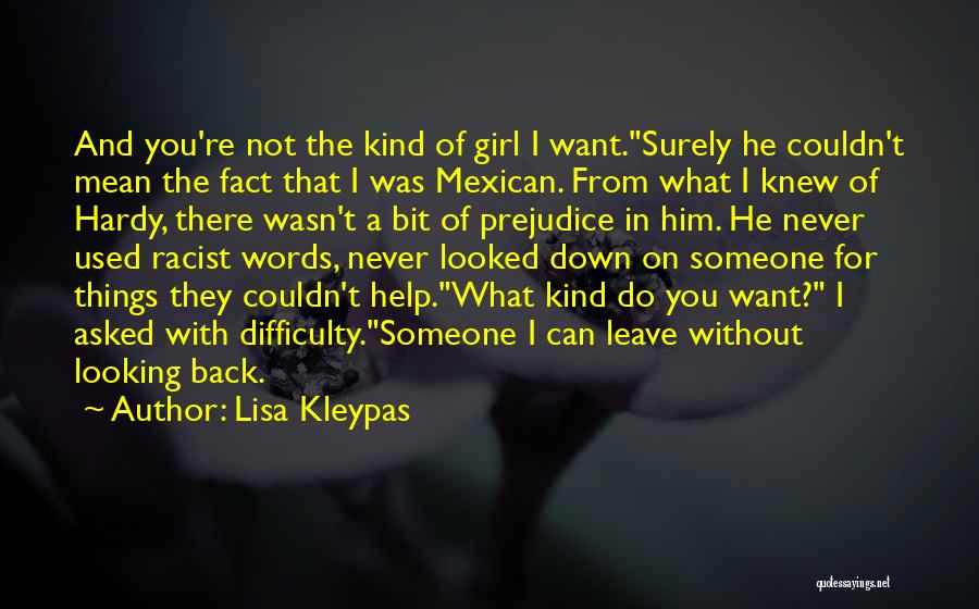 You're The Kind Of Girl Quotes By Lisa Kleypas