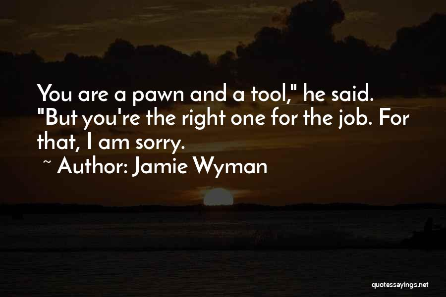 You're The Right One Quotes By Jamie Wyman
