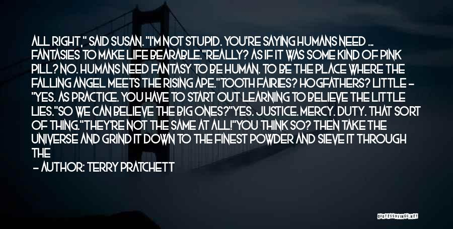You're The Right One Quotes By Terry Pratchett