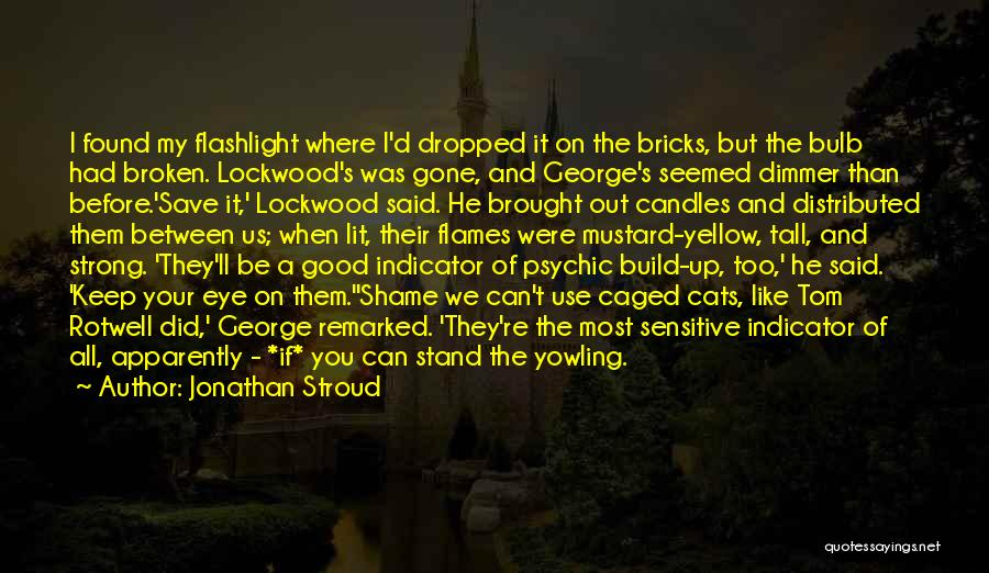You're Too Sensitive Quotes By Jonathan Stroud