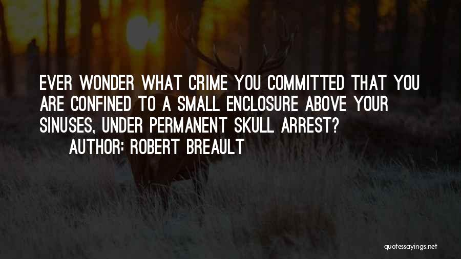 You're Under Arrest Quotes By Robert Breault
