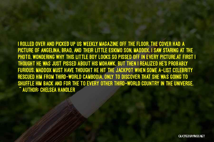 Yourself Cover Photo Quotes By Chelsea Handler