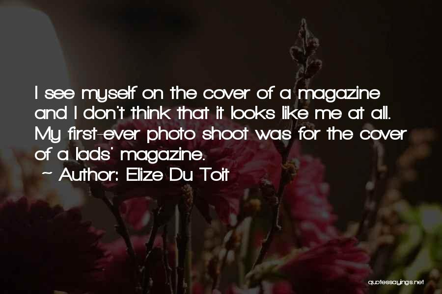 Yourself Cover Photo Quotes By Elize Du Toit