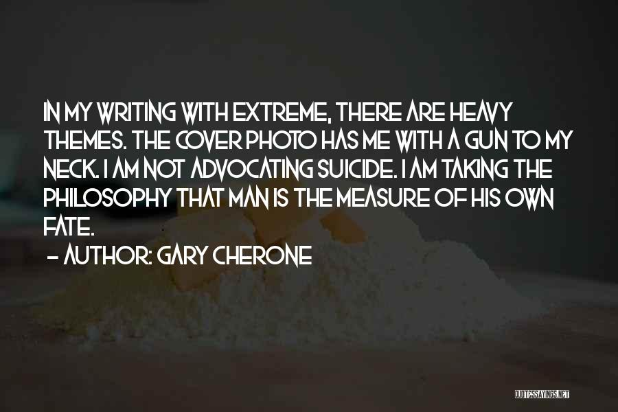 Yourself Cover Photo Quotes By Gary Cherone