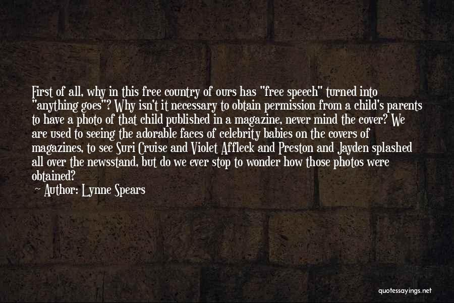 Yourself Cover Photo Quotes By Lynne Spears