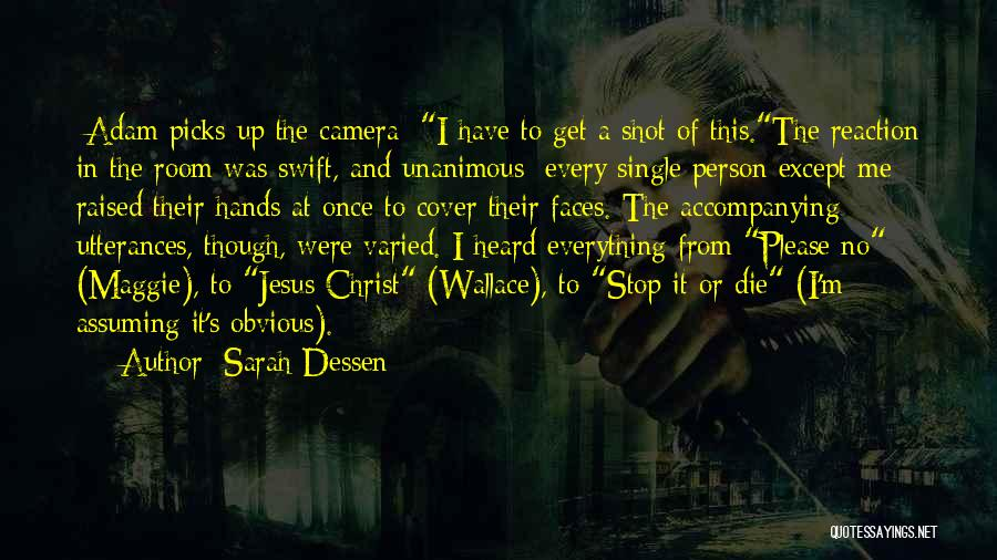 Yourself Cover Photo Quotes By Sarah Dessen