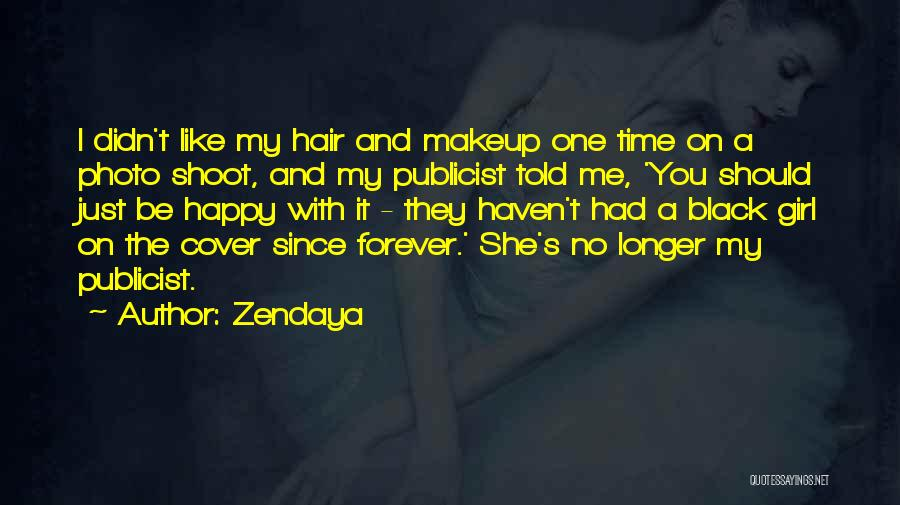 Yourself Cover Photo Quotes By Zendaya