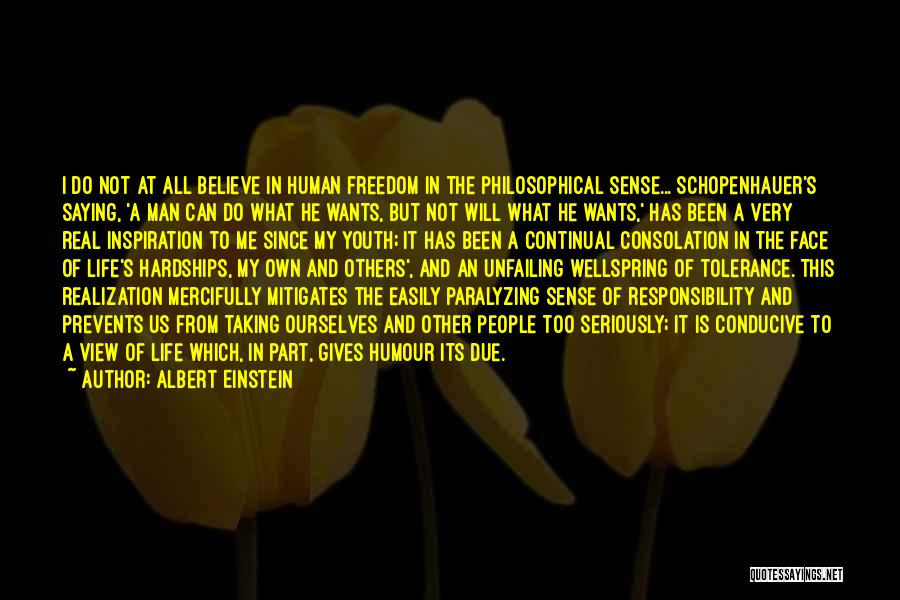 Youth And Freedom Quotes By Albert Einstein