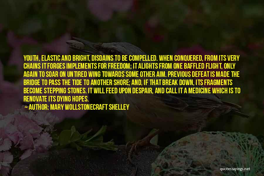 Youth And Freedom Quotes By Mary Wollstonecraft Shelley