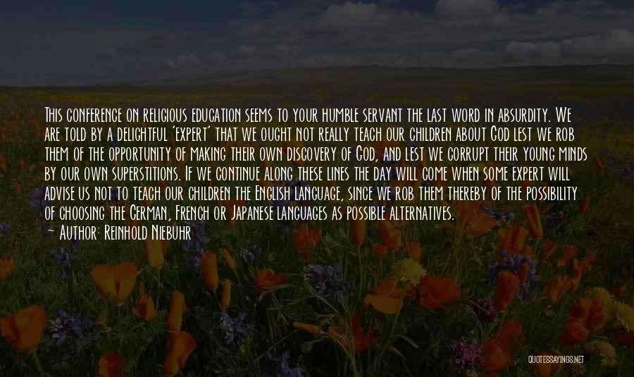 Youth And Freedom Quotes By Reinhold Niebuhr