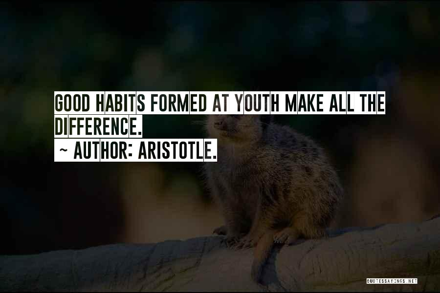 Youth Aristotle Quotes By Aristotle.